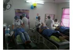 Prácticas realizadas por cada estudiante sobre las limpiezas faciales